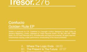 Tresor pulls Confucio's Golden Rule EP over plagiarism