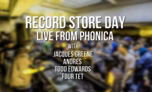 We're livestreaming Phonica's RSD in-store with Four Tet, Andres and more