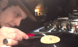 Watch Elvis Presley's first acetate recording being digitally transferred by Jack White