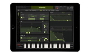 Korg recreates classic M1 digital synthesizer workstation for iPad