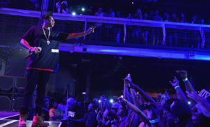 Watch Jay Z dissing YouTube and Spotify at last night's Tidal gig