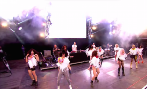 Todd Terje brings live band and dance crew to stunning Glastonbury set