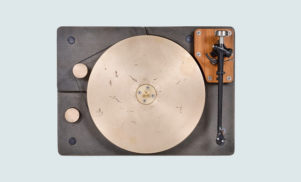 This cast iron and bronze turntable will set you back $6,500