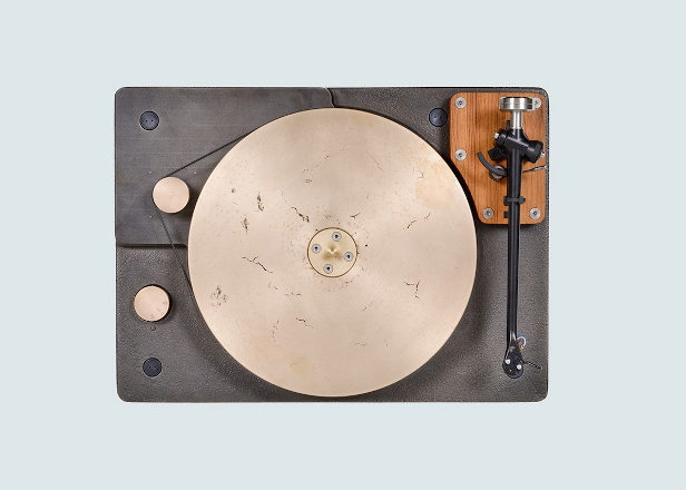 This cast-iron and bronze turntable will set you back $6,500