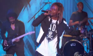 Watch Fetty Wap perform 'Trap Queen' on Jimmy Kimmel Live
