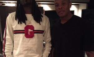 Snoop Dogg is back in the studio with Dr. Dre