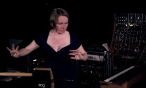 Watch Sarah Angliss in the Moog Sound Lab at Supersonic Festival