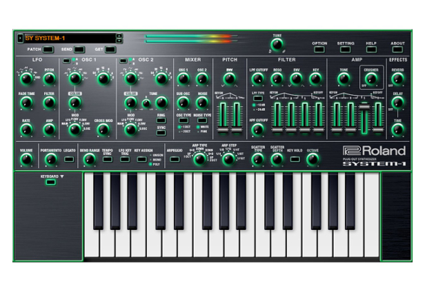 Roland S Aira System 1 Keyboard Now Has A Software Version