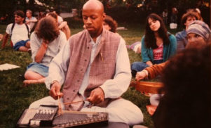Laraaji brings sound yoga to Europe with Peace Garden tour