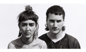 friendships pair tough-as-hell beats with warped visuals — stream 'P2M//DSK'