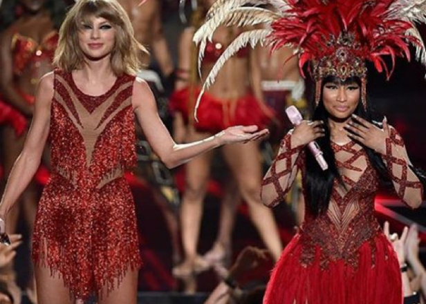 2015 MTV VMAs Round-Up: Nicki Minaj duets with Taylor Swift, takes aim at Miley Cyrus