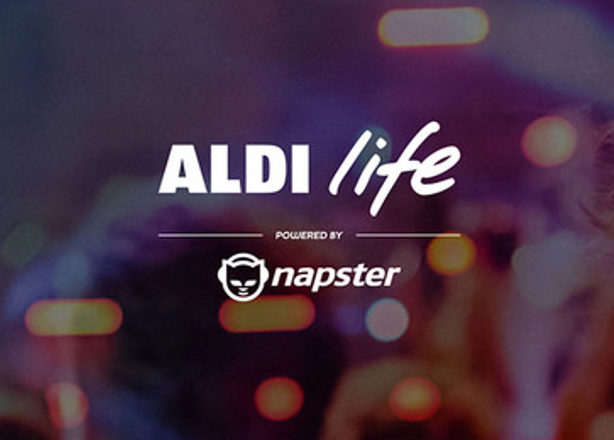 Aldi launches streaming service powered by Napster