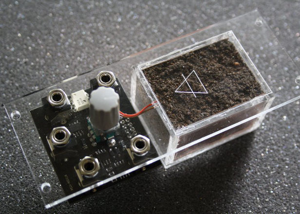 This synth module wants to make your sounds grittier with actual dirt