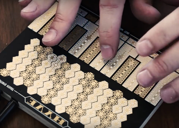 This compact touch synth is like a tiny Buchla Music Easel