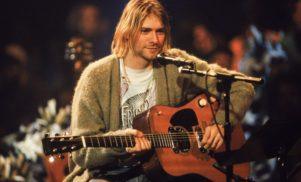 Kurt Cobain's MTV Unplugged cardigan in auction of bizarre celebrity memorabilia