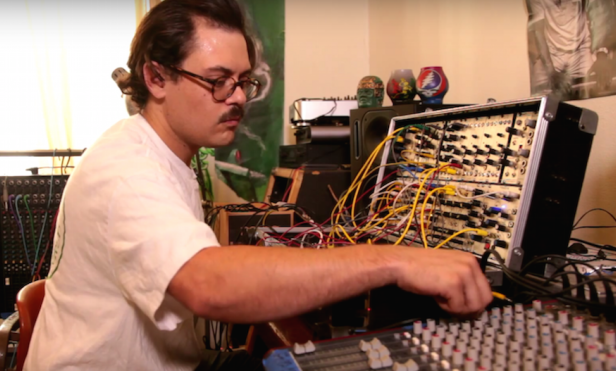 Stream 35 minutes of M. Geddes Gengras' celestial new tape
