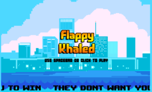 Some genius has made a DJ Khaled version of Flappy Bird