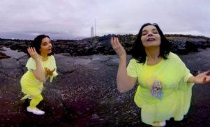 Björk releases 360° Stonemilker VR app