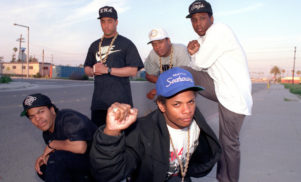 N.W.A. inducted into the Rock and Roll Hall of Fame