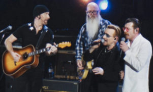 Eagles of Death Metal perform Patti Smith's 'People Have the Power' with U2 in Paris
