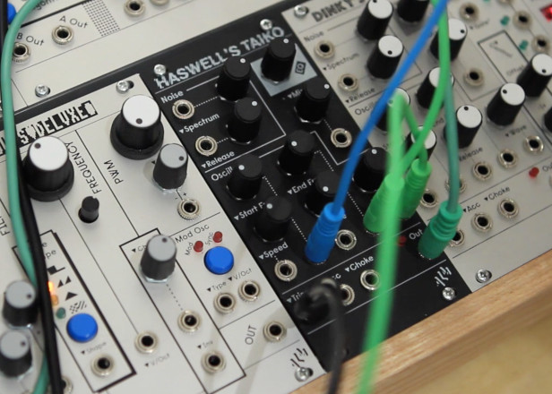 Russell Haswell gets his own synth module