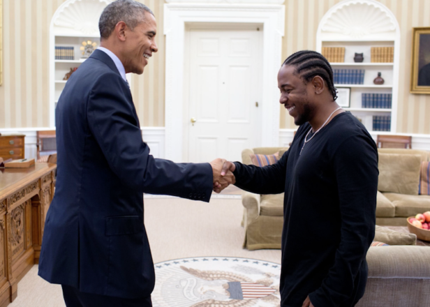 Kendrick Lamar talks White House meeting with Obama in mentoring PSA