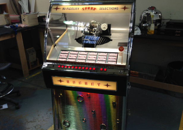 First vinyl jukebox manufactured in two decades