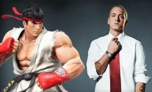 Eminem battles Street Fighter on Marshall vs. Capcom mixtape