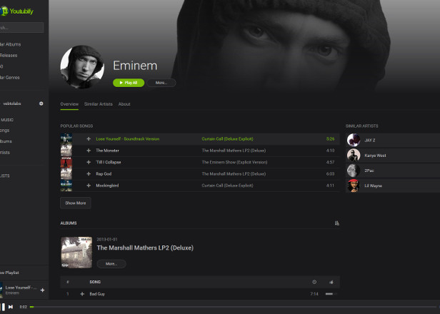 YouTube content is powering an army of $38 Spotify clones