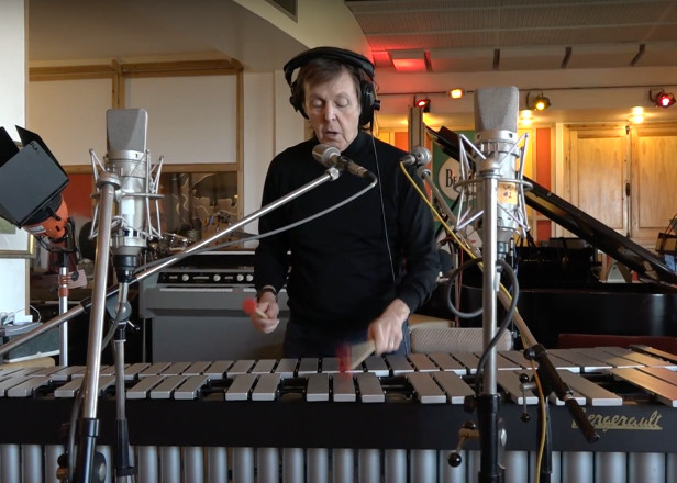 Paul McCartney has recorded music for Skype's emoji