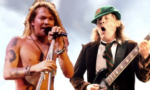 Axl Rose may have joined AC/DC