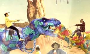 The week's best videos: Rae Sremmurd in 8-bit, lowriders, dinosaurs and Ariana Grande