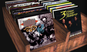 Dig through a virtual crate of hip-hop vinyl in your browser