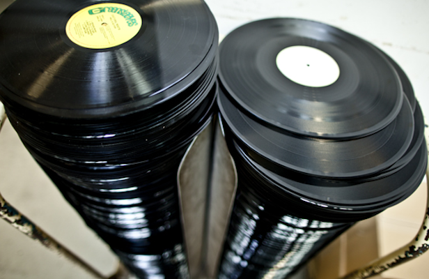 "Some monsters have started a petition to change the plural of ""vinyl"" to ""vinyls"""