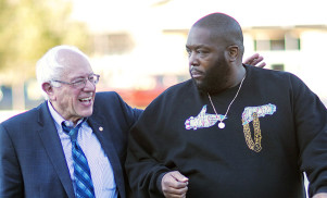 Bernie Sanders introduced Run The Jewels at Coachella