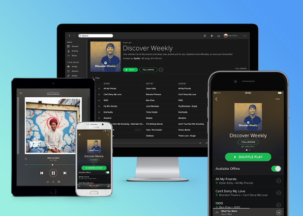 Spotify says growth has increased since launch of Apple Music
