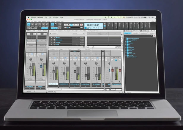 Cakewalk to release free version of Sonar production software for Mac