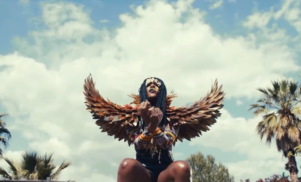 D∆WN is a gilded phoenix in the video for 'Wake Up'