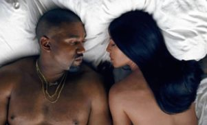 Kanye West's 'Famous' video is a celebrity Last Supper in the nude