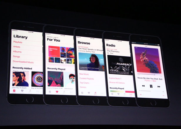 Apple Music overhauled with fresh interface