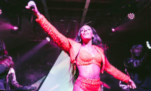 D∆WN treats her legion of British fans to a stunning performance at London's XOYO