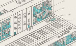 New print from UK studio Dorothy reveals the secret life of a Minimoog