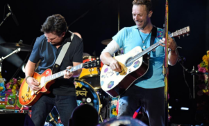 Coldplay go Back To The Future with Michael J. Fox