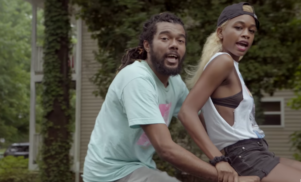 Watch Awful Records' Richposlim and Abra bike through suburbia in 'Make You Mine' video