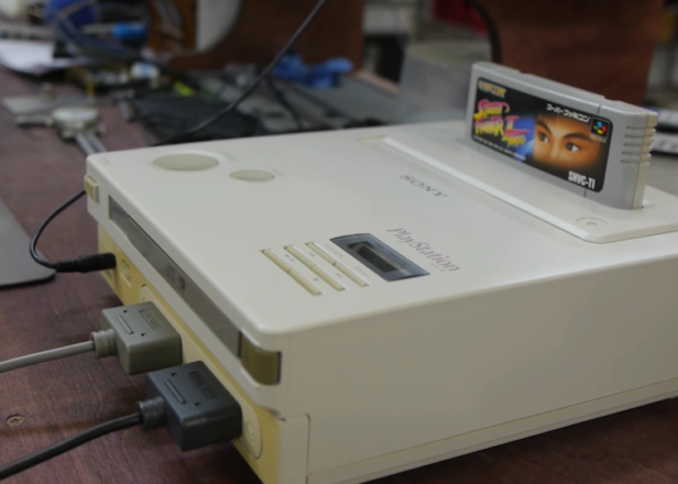 The mythical lost '90s console the Nintendo Playstation is real and you can watch one in action