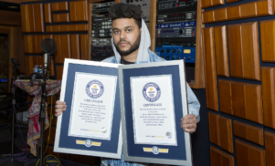 The Weeknd sets two Guinness World Records