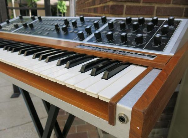 You can win a classic Memorymoog synth in a $25 raffle