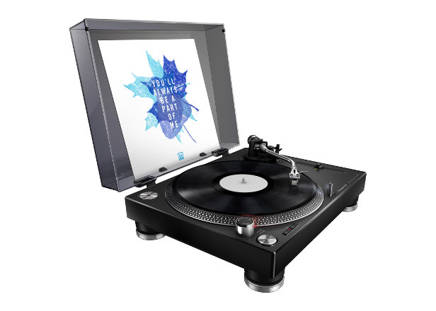 Pioneer DJ launches new turntable for DJing and home listening
