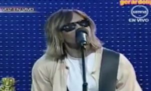 Nirvana deny Kurt Cobain is still alive and recently appeared on Peruvian TV talent show