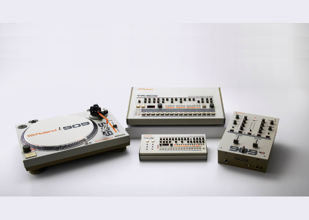 Roland is getting into DJ gear with 909-themed turntable and mixer